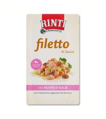 Rinti Filetto kapsička - kura & teľacie 125 g