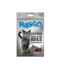 Pochoutka RASCO válečky kuře rýže sezam 80 g