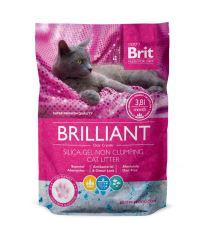 Brit Brilliant Silica-gel silikátová podstielka pre mačky