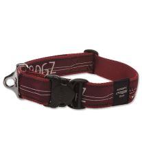 Obojek pre psa nylonový - Rogz Fancy Dress Red Heart - 4 x 50 - 80 cm