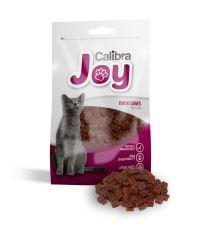 Calibra Joy Cat Duck Cubes - kocky z kačacieho mäsa 70g- EXPIRACE 10/2017
