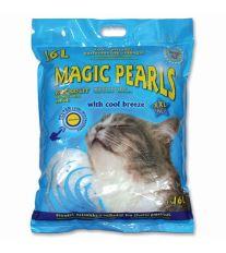 Magic Pearls Litter Cool Breeze podstielka s vôňou chladného vánku 16 l