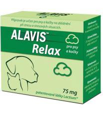 Alavis Relax 75 mg pre psov a mačky - na upokojenie pri strese