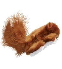 Hračka cat plyš Veverička s catnipom Kong 1 ks