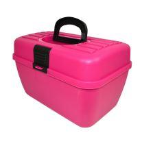 Box na příslušenství Argi - růžový - 29 x 19 x 18 cm
