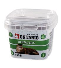 Ontario Snack Dental Bits pochúťka pre mačky - starostlivosť o zuby 75 g