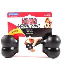 Hračka guma Kosť čierna Kong medium