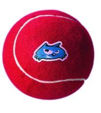 Hračka ROGZ tenisák Molecules červený L