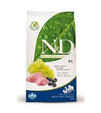 N&D Grain Free Dog Adult Maxi Lamb & Blueberry - jahňacie & čučoriedky bezobilné pre dospelých psov veľkých plemien 12 kg