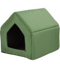 Bouda pro psy a kočky Argi - zelená - 38 x 38 x 38 cm
