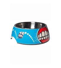 Rogz Bowlz Bubble - Miska pre psov nerezová a plastová vzor Comic, 700 ml