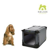 Prepravka pre psov Maelson - čierno-šedá