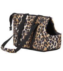 Taška na psa Argi z polyesteru - vzor leopard - 35 x 21 x 24 cm