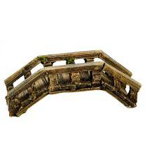 Dekorácia do akvária - Kamenný most histor. Nobby 11,5 x 4,5 x 4,5 cm