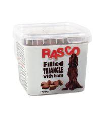 Pochoutka RASCO plněné trojúhelníčky se šunkou 750 g