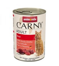 Animonda Carny Adult Konzerva - hovädzie pre dospelé mačky