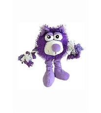 Hračka pes Monster Friend fialový plyš 21cm