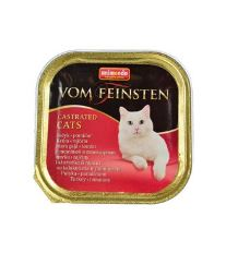 Animonda Vom Feinstein Castrate Paštéta - morka & paradajka pre kastrované mačky 100 g