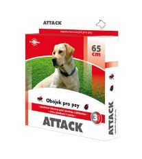 Attack obojok antiparazitárny 65cm pes