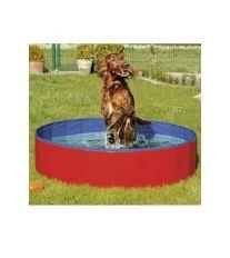 Bazén sklad. nylon pes 120x30cm blue / red KAR 1ks