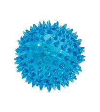 Hračka DOG FANTASY míček LED modrý 6 cm