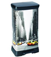 Curver odpadkový koš, DECO BIN, New York, 50l