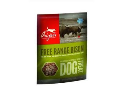 Orijen Dog FD Alberta Bison - pochúťka sušené bizónie mäso