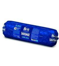 Brit Premium Sausage Lamb & Rice - jahňacie & ryža saláma pre psov 800 g