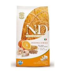 N&D Low Grain Dog Adult Mini Codfish & Orange