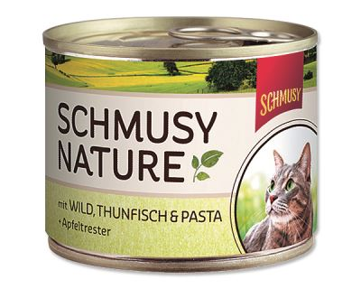 Schmusy Nature Menu konzerva - zverina & tuniak 190 g