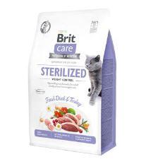 Brit Care Cat GF Sterilized Weight Control, 0,4kg