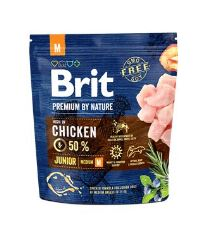 Brit Premium by Nature Dog Junior M 1 kg