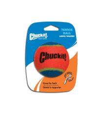 Chuckit! loptička tenisový oranžovo modrý - veľkosť L, 7,5 cm