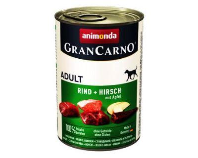 Animonda Gran Carno Konzerva - jelenie mäso & jablká pre psov 400 g