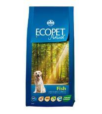 Ecopet Natural Adult Fish Mini 12kg+2kg ZDARMA