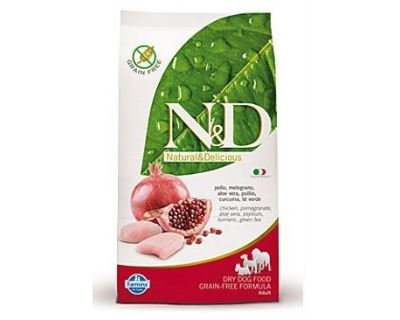 N&D Grain Free Dog Adult Chicken & Pomegranate