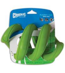 Chuckit! Floppy Tug gumové preťahovadlo v tvare pružiny zelenej