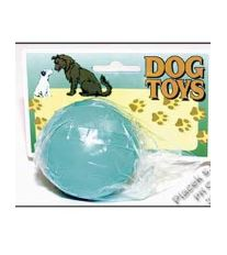 Hračka pes Míč guma 6cm