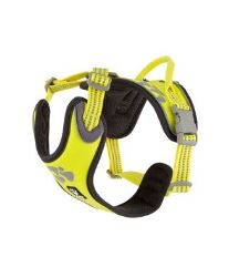 Hurtta Postroj Weekend Warrior neon citrónový 45-60cm