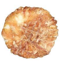 Trixie Dentafun Krúžok z byvolej kože obalený kuracím mäsom, 10 cm