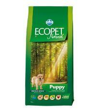 Ecopet Natural Puppy Mini 12kg+2kg ZDARMA