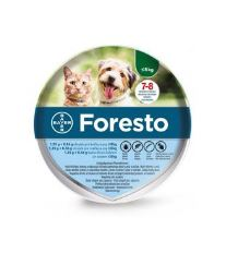 Foresto Antiparazitný obojok pre mačky a malé psy do 8 kg, 38 cm