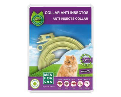 Menforsan prírodný antiparazitný obojok pre mačky odpudzujúce kliešte a blchy 30 cm