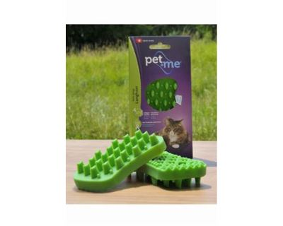 Pet and Me Kefa pre douhosrsté mačky zelený