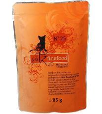 Catz Finefood No.25 Kapsička - kura & tuniak pre mačky 85 g