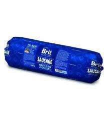 Brit Premium Sausage White Fish & Potatoes - ryby & zemiaky saláma pre psov 800 g