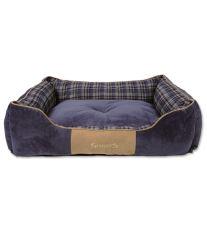 Scruffs Highland Box Bed Pelech modrý - veľkosť XL, 90x70 cm