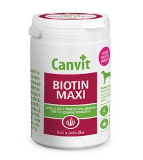 Canvit Biotín - výživový doplnok pre kvalitnú srsť psa nad 25 kg