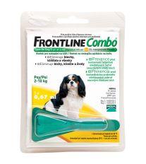 Frontline Combo Antiparazitný pipeta pre psov