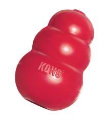 Hračka guma pre malé zvieratá Kong červená